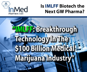 Could Inmed Pharmaceutic Com Npv (OTCMKTS:IMLFF) be the next GW Pharmaceuticals PLC- ADR (NASDAQ:GWP...